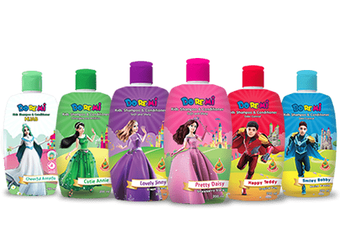 Kids shampoo and conditioner